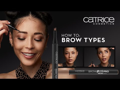 How to style different brow types? // CATRICE Brow Comb Pro Micro Pen
