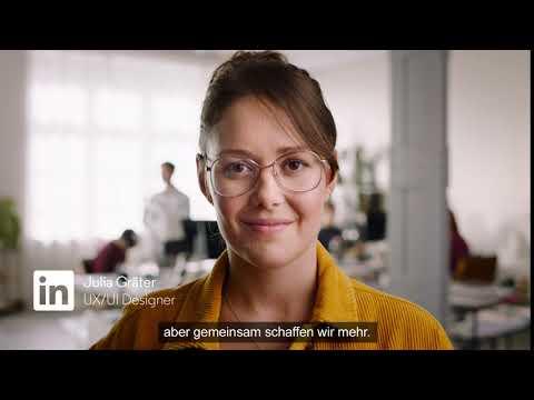 Linkedin - Gemeinsam ist das neue Ich - Julia