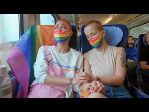 Wir fühlen mit Euch � Pride Ride bei der DB