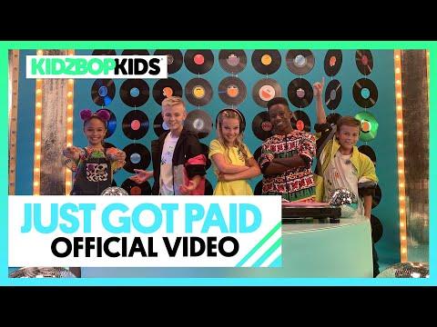 KIDZ BOP Kids - Just Got Paid (Official Music Video)